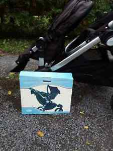 Double stroller (city select) with infant seat adapter Kingston Kingston Area image 5