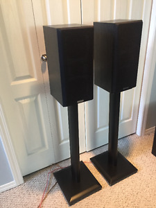 KENWOOD KS-707 Complete 5.1 SPEAKER SYSTEM with SPEAKER STANDS