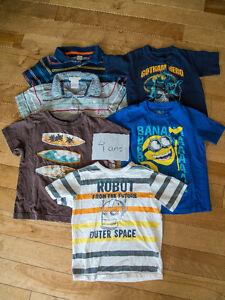 Lot vêtements garçon 4 ans (un peu 3 ans et 5 ans)