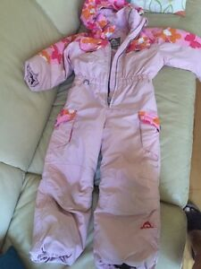 Jupa Size 5 Girls one piece ski or snowboard suit