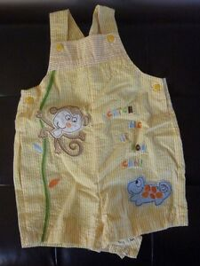 SIze 3-6 months Overalls