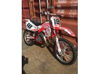 Honda cr 125 swap for Yamaha dt 125