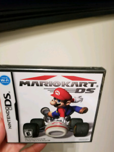 Sealed Nintendo DS Mario Kart DS