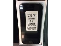 iPhone 5s 32gb unlocked brand new with hox