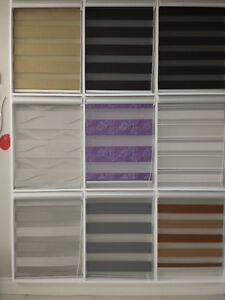 ZEBRA AND CALIFORNIA STYLE BLINDS