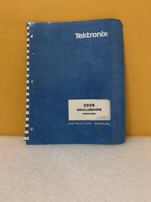 Tektronix 070-4207-00 2235 Oscilloscope Operators Instruction Manual