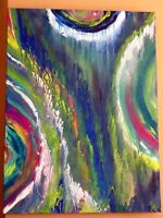 ABSTRACT PAINTING ( moving sale)