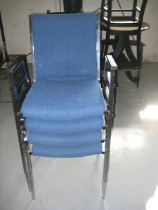 Office Chairs - stackable