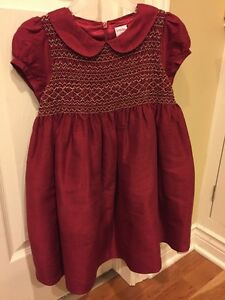 Gymboree 5t silk red holiday dress