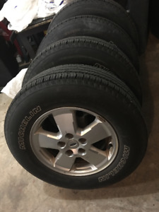 Michelin Tires With Ford RIMS & Sensors P235/70R16