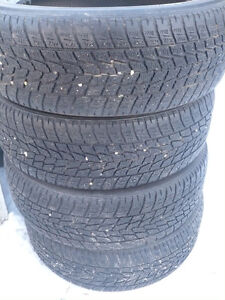 "4- P235/55R20"" WINTER TIRES"
