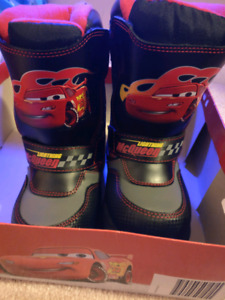 Brand New Cars Winter Boots Boys size 11