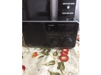 IPod speaker and DAB radio
