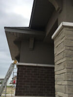 soffit and siding installer