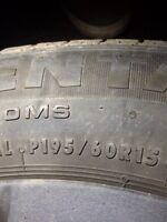 195/60 R15 tires and rims