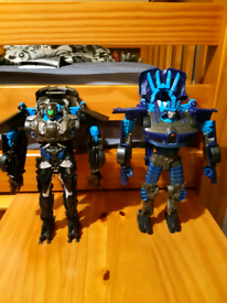 Transformers flip and change figures