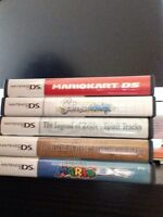 Selling five great ds games