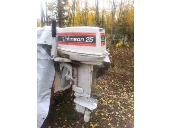 Used 1985 Johnson 25 Hp Outboard
