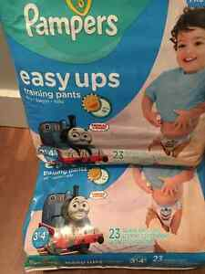 Brand new sealed easy up diapers