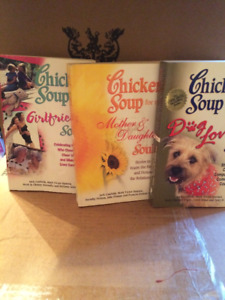 CHICKEN SOUP FOR THE SOULS BOOKS 3/$12.