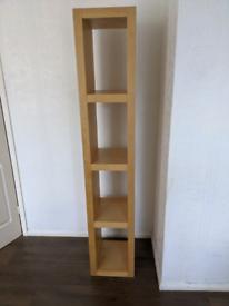 Storage unit bookshleves
