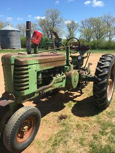 John Deere B Tractor Wanted
