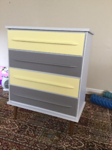 delivery included- 4 drawer dresser
