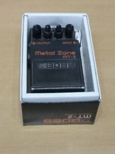 NEW in the BOX ~ BOSS MT-2 METAL ZONE DISTORTION PEDAL