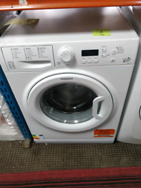 HOTPOINT 9KG WASHING MACHINE EXCELLENT CONDITION WITH DELIVERY AND WAR