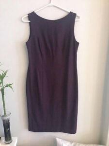 Plum purple dress excellent condition size 8