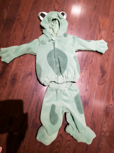 Frog costume 12-18 months