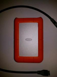 LaCie external hard drive 1TB USB 3.0