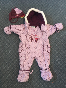 Gusti One Piece 24 Months Girl's Snow Suit