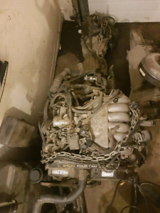5VZ from 1998 4 runner 4x4 / complete harness engine trans case