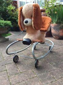 Vintage child's stroller / rocker from the 1970s