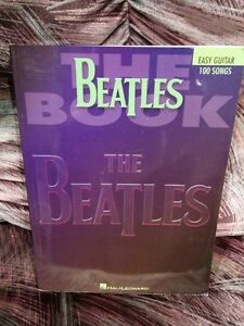 LIVRE EASY GUITAR   THE BEATLES