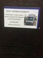 DÉMÉNAGEMENT ÉRIC transports livraison