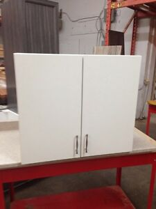 New white wall cabinets
