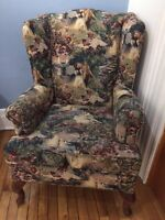1930s wingback chair