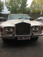 Rolls Royce silver shadow 1974 en parfaite condition