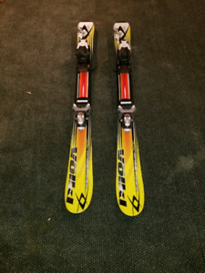 Junior Volkl Skis 90cm and Head boots