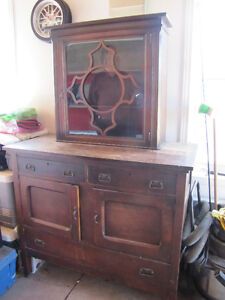 Lovely and Unique hutch and Buffet  Great Value at $180.