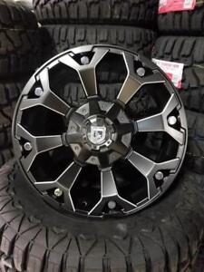 20x9 MATTE BLACK MILLED WHEELS! awesome CONCAVE look!! Dodge-Chevrolet-Ford-Lexus-Toyota-8025
