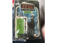 For sale vintage Star Wars Luke figure and card