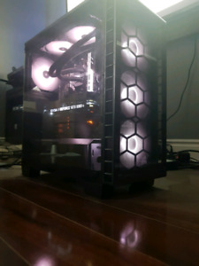 CUSTOM LIQUID COOLED 8700K GTX 1080TI RGB GAMING PC