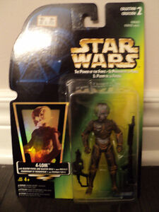 Star Wars 4-LOM Bounty Hunter figure *NEW IN BOX*