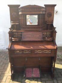 Vintage Antique Victorian Harmonium