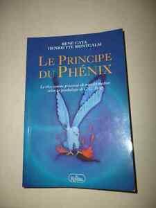 """Livre """"Le principe du phénix"""""""