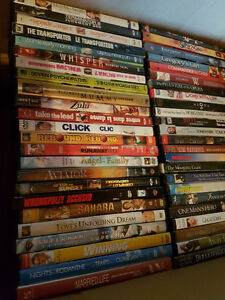 200+ DVDs Buy 20 for $10