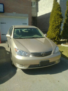 2005 Toyota Camry LE V6- Low mileage, good on gas, reliable